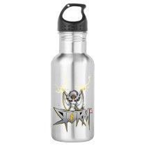 Classic X-Men   Storm Lightning Name Badge Stainless Steel Water Bottle