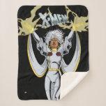 Classic X-Men   Storm Summons Lightning Sherpa Blanket