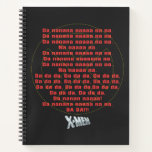 Classic X-Men   Theme Song Graphic Notebook