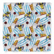 Classic X-Men | Wolverine Slash Pattern Bandana