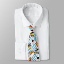 Classic X-Men | Wolverine Slash Pattern Neck Tie