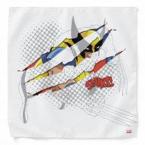 Classic X-Men | Wolverine Sliced Color Graphic Bandana