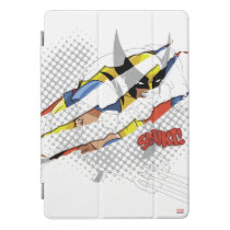 Classic X-Men | Wolverine Sliced Color Graphic iPad Pro Cover