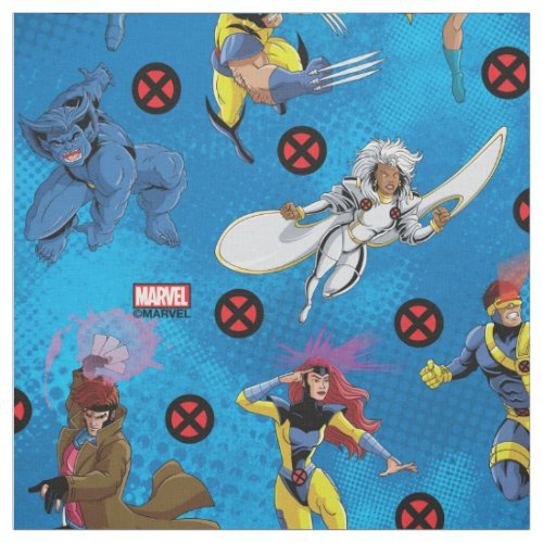 Classic X-Men | X-Men Character Pattern Fabric