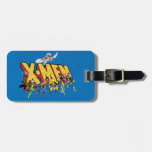 Classic X-Men   X-Men Character Pattern Luggage Tag