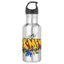 Classic X-Men   X-Men Character Pattern Stainless Steel Water Bottle