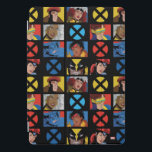 "Classic X-Men | X-Men Hero Character Grid iPad Pro Cover<br><div class=""desc"">X-Men Heroes in a grid,  featuring Beast,  Jubilee,  Wovlerine,  Jean Grey,  Gambit,  Rogue,  Storm,  and Cyclops.</div>"