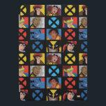 "Classic X-Men | X-Men Hero Character Grid iPad Pro Cover<br><div class=""desc"">X-Men Heroes in a grid,  featuring Beast,  Jubilee,  Wovlerine,  Jean Grey,  Gambit,  Rogue,  Storm,  and Cyclops.</div>"