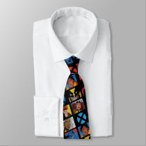 Classic X-Men | X-Men Hero Character Grid Neck Tie