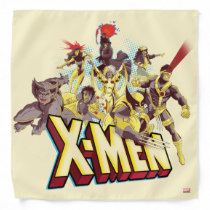 Classic X-Men | X-Men Team With Logo Bandana