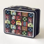 Classic X-Men   X-Men Villain Character Grid Metal Lunch Box
