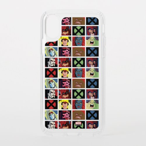 Classic X-Men | X-Men Villain Character Grid Phone Case
