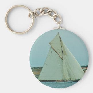 Classic Yacht Mariquita Basic Round Button Keychain