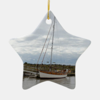 Classic Yacht Thruppence Ornament