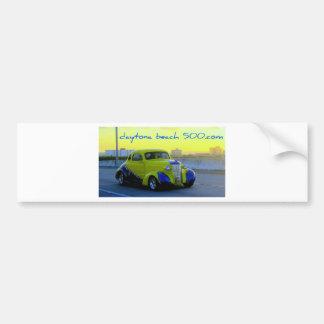 Classic Yellow Auto Bumper Sticker