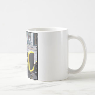 Classic Yellow Car Coffee Mug