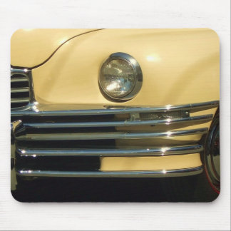 Classic Yellow Car Mouse Pad