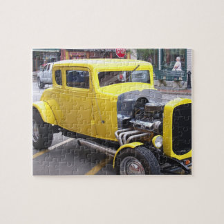 Classic Yellow Car Puzzle