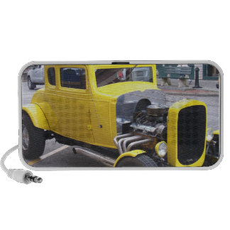 Classic Yellow Car Travel Speaker