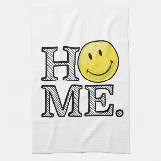 Classic Yellow Happy Face Housewarming Towels