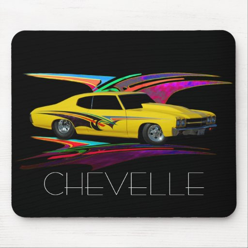 Classic yellow mouse pad