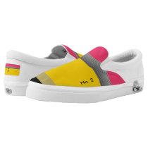 Classic Yellow No. 2 Pencil Shoes - Fun Canvas Sho