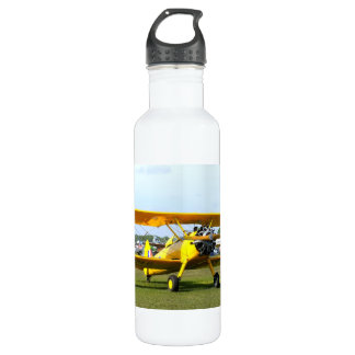 Classic Yellow Stainless Steel Water Bottle