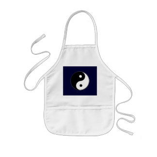 Classic Yin Yang Kids' Apron