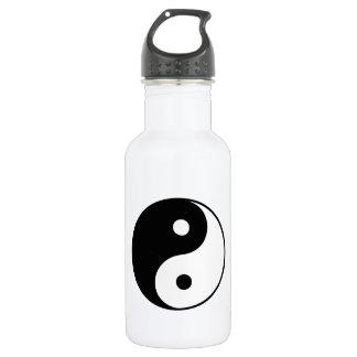Classic Yin Yang 18oz Water Bottle