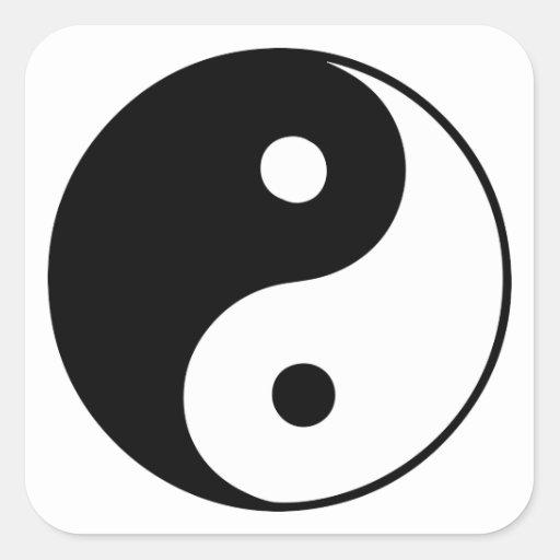 Classic Yin Yang Sticker