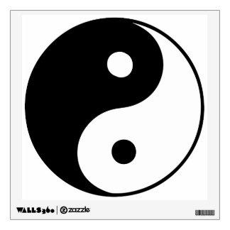 Classic Yin Yang Wall Sticker