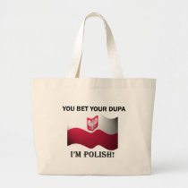 Classic You Bet Your Dupa Canvas Bag
