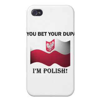 Classic You Bet Your Dupa iPhone 4/4S Case