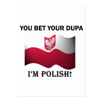 Classic You Bet Your Dupa Postcard