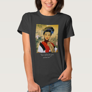 Classic young beautiful chinese princess Guo Jin T-shirt