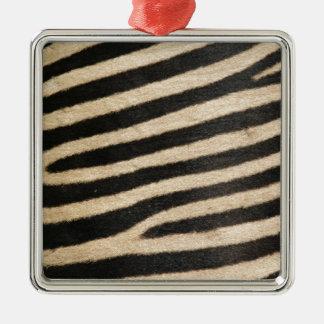 Classic zebra print. PJ. Metal Ornament