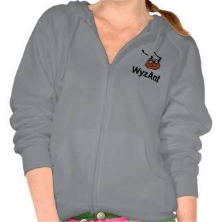 Classic Zip Front Hoodie - Womens, Large