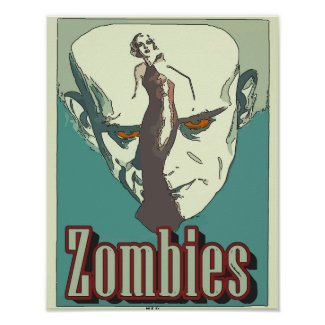 Classic Zombies Sign