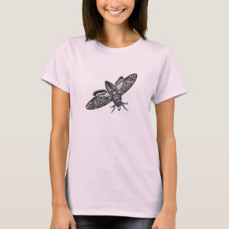 Classic Zoological Etching - Death's Head Moth T-Shirt