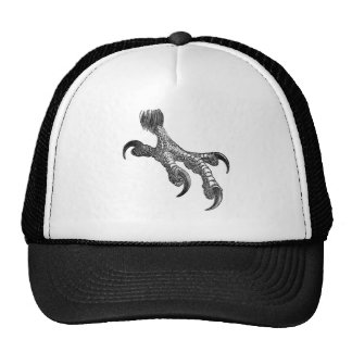 Classic Zoological Etching - Raptor Talon Trucker Hat