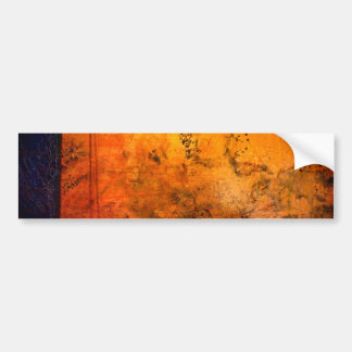 Classical Abstract Artwork Bumper Sticker