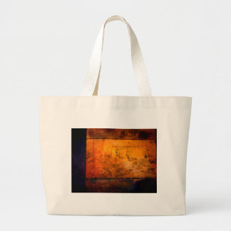 Classical Abstract Artwork Large Tote Bag
