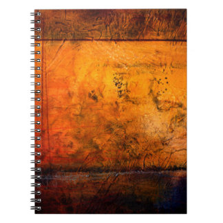 Classical Abstract Artwork Notebook