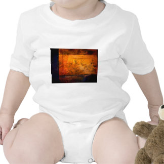 Classical Abstract Artwork Baby Bodysuit