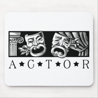 Classical Actor Mouse Pad
