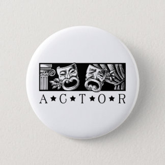 Classical Actor Pinback Button
