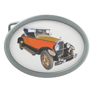 Classical American Buick Oval Belt Buckle