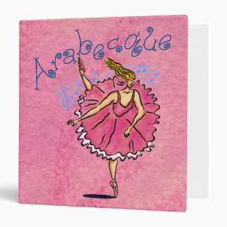 "Classical Ballerina 1.5"" Binder"