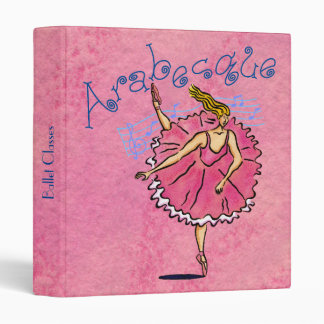 "Classical Ballerina 1"" Binder"