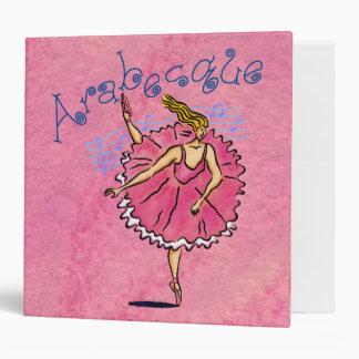 "Classical Ballerina 2"" Binder"